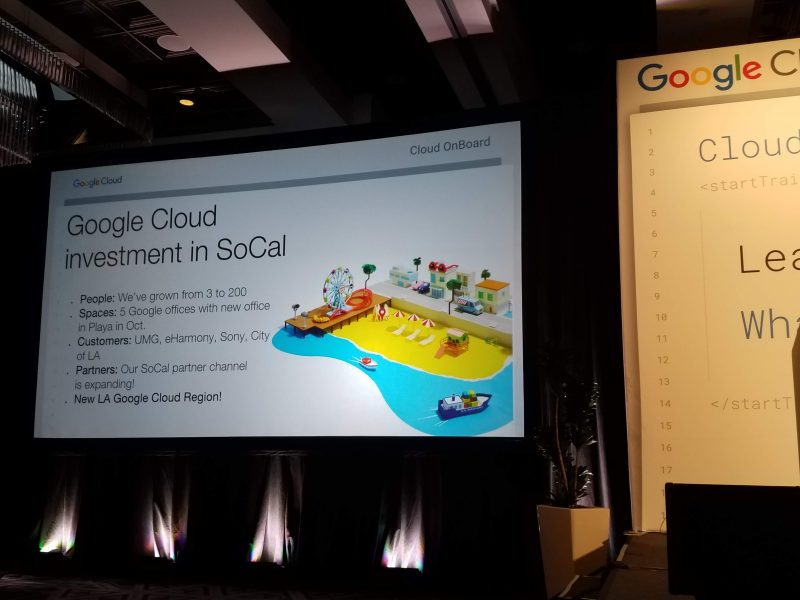 Google Cloud Onboard Event Los Angeles: Machine Learning, Use with a Grain of Salt