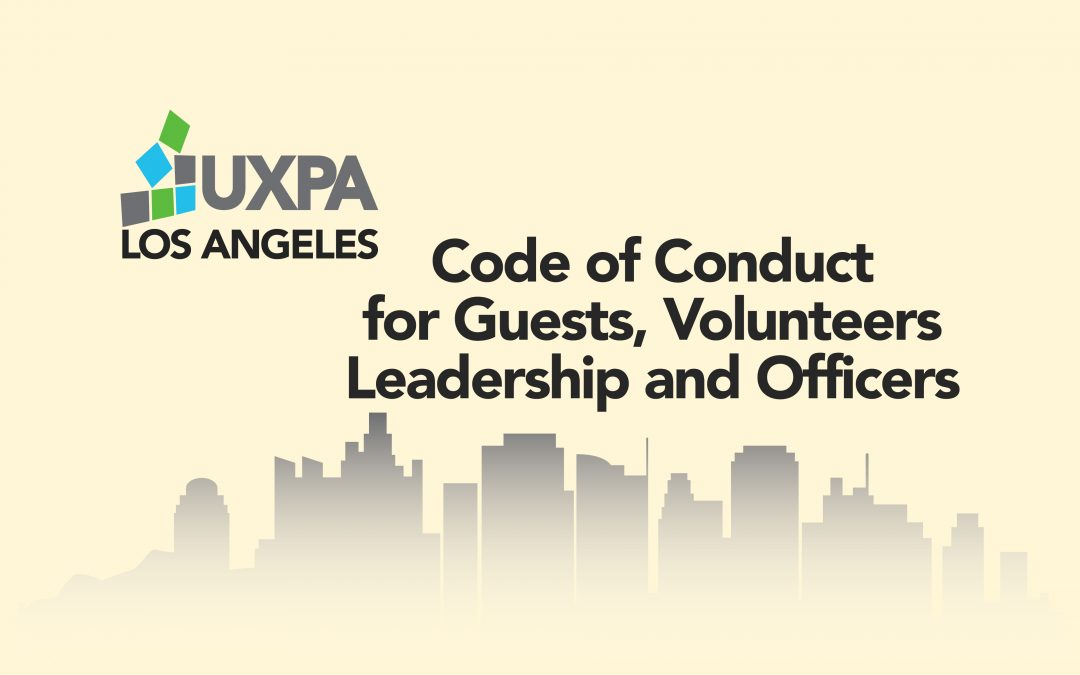 Code of Conduct for Guests, Volunteers, Leadership & Officers